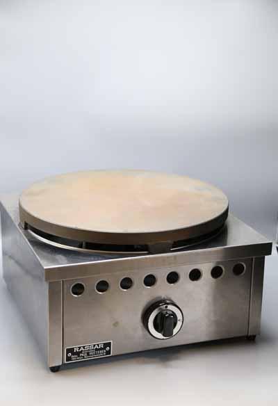 Crepes Platte Gas